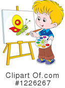 Painting Clipart #1226267 by Alex Bannykh