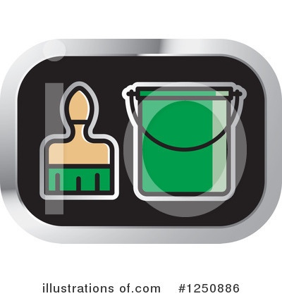 Royalty-Free (RF) Painting Clipart Illustration by Lal Perera - Stock Sample #1250886