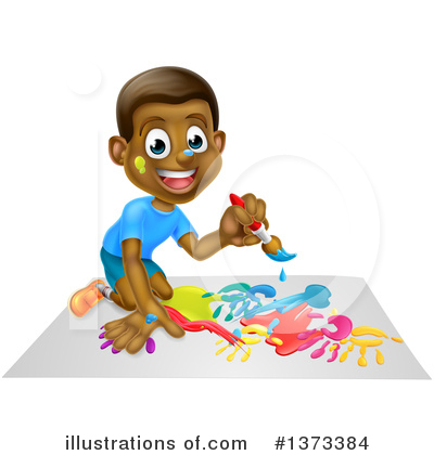 Children Clipart #1373384 by AtStockIllustration