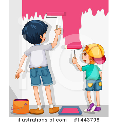 Royalty-Free (RF) Painting Clipart Illustration by Graphics RF - Stock Sample #1443798
