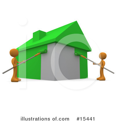 House Clipart #15441 by 3poD