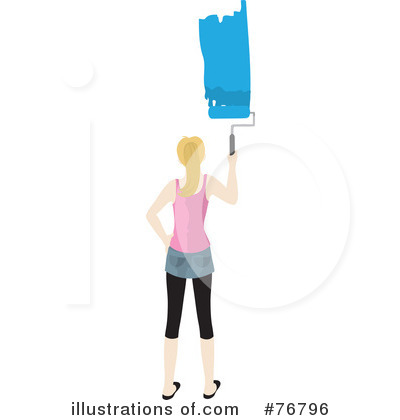 Painting Clipart #76796 by Rosie Piter