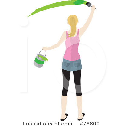 Painting Clipart #76800 by Rosie Piter
