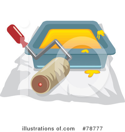 Royalty-Free (RF) Painting Clipart Illustration by Prawny - Stock Sample #78777