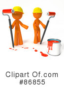 Royalty-Free (RF) painting Clipart Illustration #86855