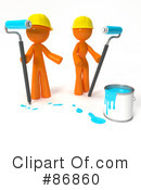 Royalty-Free (RF) Painting Clipart Illustration #86860