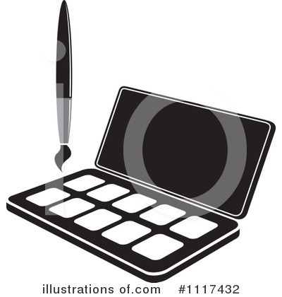 Paintbrush Clipart #1117432 by Lal Perera