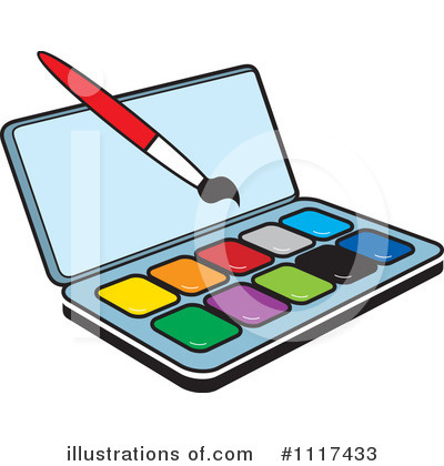 Paintbrush Clipart #1117433 by Lal Perera
