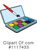 Paints Clipart #1117433 by Lal Perera