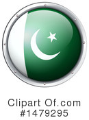 Pakistan Flag Clipart #1479295 by Graphics RF