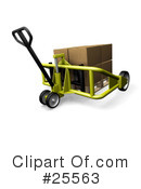 Pallet Truck Clipart #25563 by KJ Pargeter