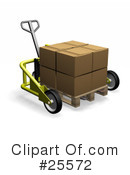 Pallet Truck Clipart #25572 by KJ Pargeter