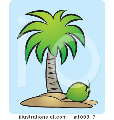 Coconut Clipart #100317 by Lal Perera