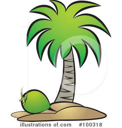 Coconut Clipart #100318 by Lal Perera