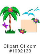 Royalty-Free (RF) Palm Tree Clipart Illustration #1092133