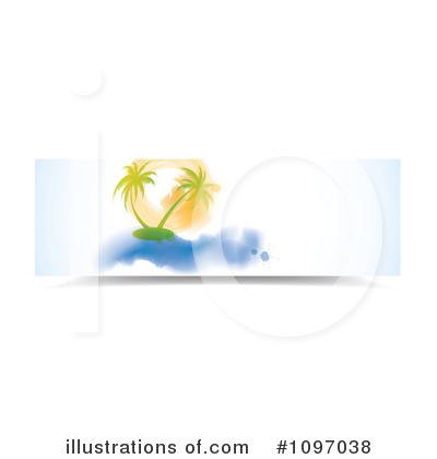 Palm Tree Clipart #1097038 by MilsiArt