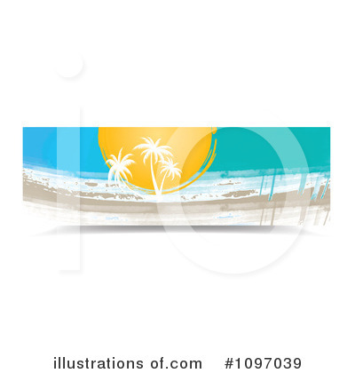 Royalty-Free (RF) Palm Tree Clipart Illustration by MilsiArt - Stock Sample #1097039