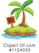 Royalty-Free (RF) Palm Tree Clipart Illustration #1124033