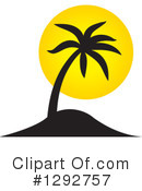Palm Tree Clipart #1292757 by ColorMagic