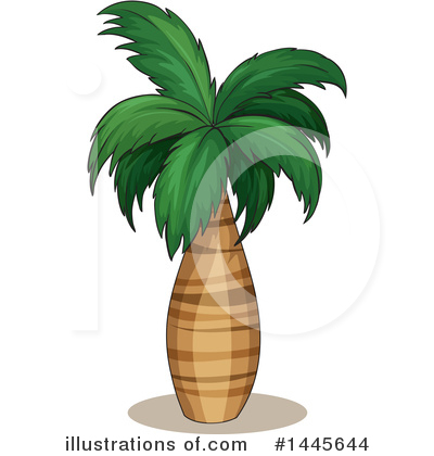 Palm Trees Clipart #1445644 by Graphics RF