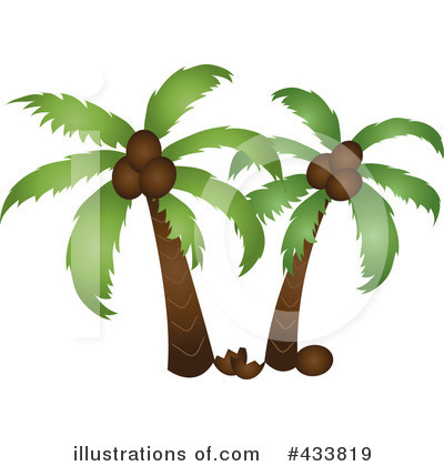 Coconut Clipart #433819 by Pams Clipart