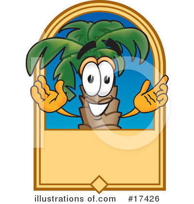 Palm Tree Mascot Clipart #17426 by Toons4Biz