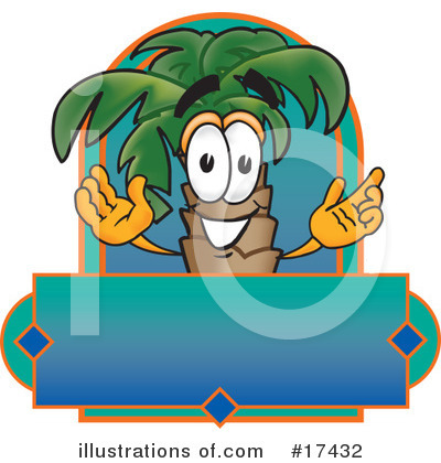 Palm Tree Mascot Clipart #17432 by Toons4Biz