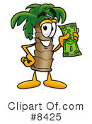 Palm Tree Mascot Clipart #8425 by Toons4Biz