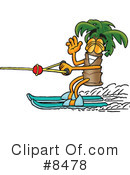 Palm Tree Mascot Clipart #8478 by Toons4Biz
