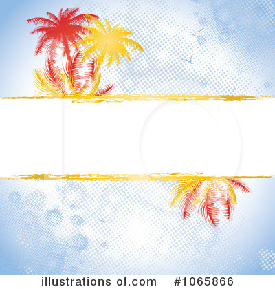 Palm Tree Clipart #1065866 by MilsiArt