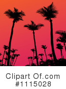 Palm Trees Clipart #1115028 by Arena Creative