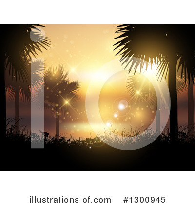 Beach Clipart #1300945 by KJ Pargeter