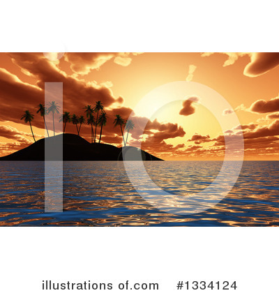 Beach Clipart #1334124 by KJ Pargeter