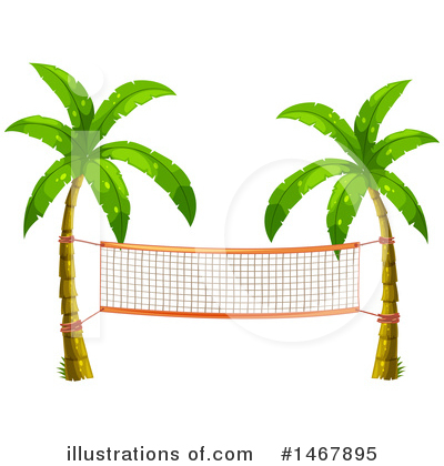 Royalty-Free (RF) Palm Trees Clipart Illustration by Graphics RF - Stock Sample #1467895
