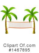 Royalty-Free (RF) Palm Trees Clipart Illustration #1467895
