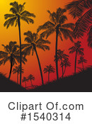Palm Trees Clipart #1540314 by elaineitalia