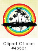 Palm Trees Clipart #46631 by KJ Pargeter