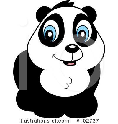 Panda Clipart #102737 by Cory Thoman