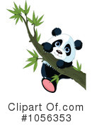 Royalty-Free (RF) Panda Clipart Illustration #1056353