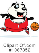Royalty-Free (RF) Panda Clipart Illustration #1087352