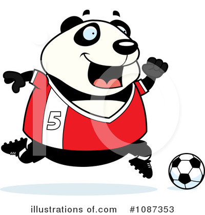 Panda Clipart #1087353 by Cory Thoman