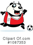 Royalty-Free (RF) Panda Clipart Illustration #1087353