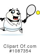 Royalty-Free (RF) Panda Clipart Illustration #1087354