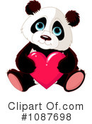 Royalty-Free (RF) Panda Clipart Illustration #1087698