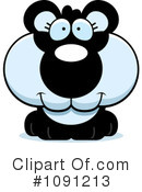 Royalty-Free (RF) Panda Clipart Illustration #1091213