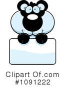 Royalty-Free (RF) Panda Clipart Illustration #1091222