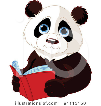 Reading Clipart #1113150 by Pushkin