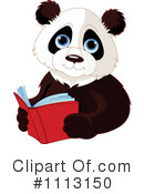 Royalty-Free (RF) Panda Clipart Illustration #1113150
