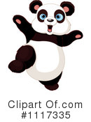 Royalty-Free (RF) Panda Clipart Illustration #1117335