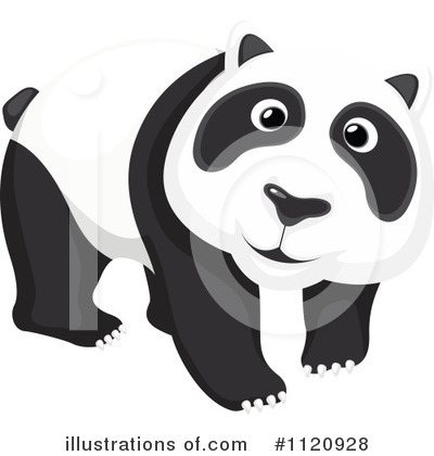 Panda Clipart #1120928 by Graphics RF